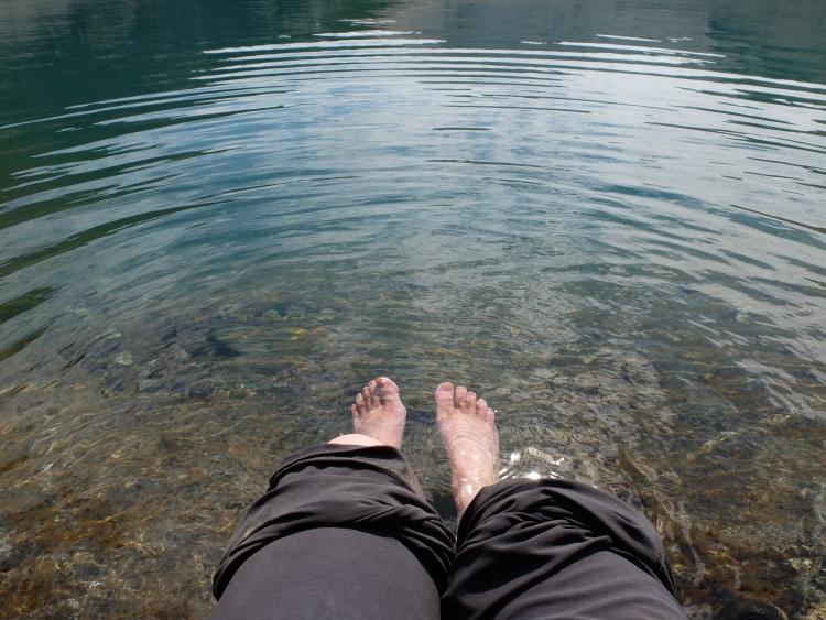 Erfrischung für die Füße