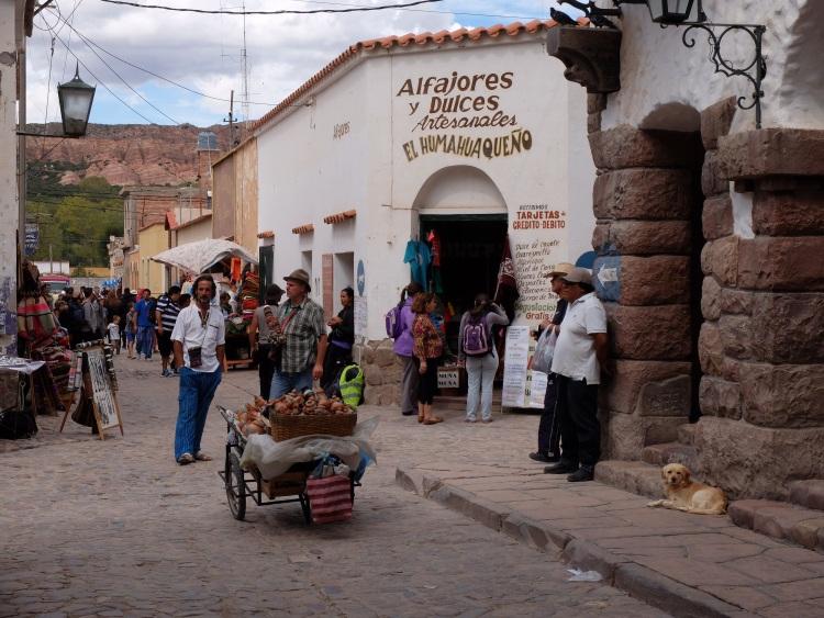 Straßenleben in Humahuaca