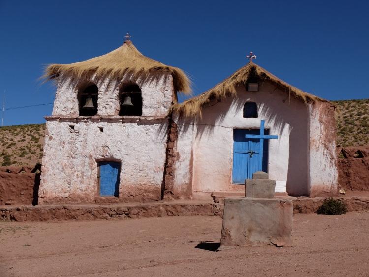 Altes Dorf in der Atacamawüste