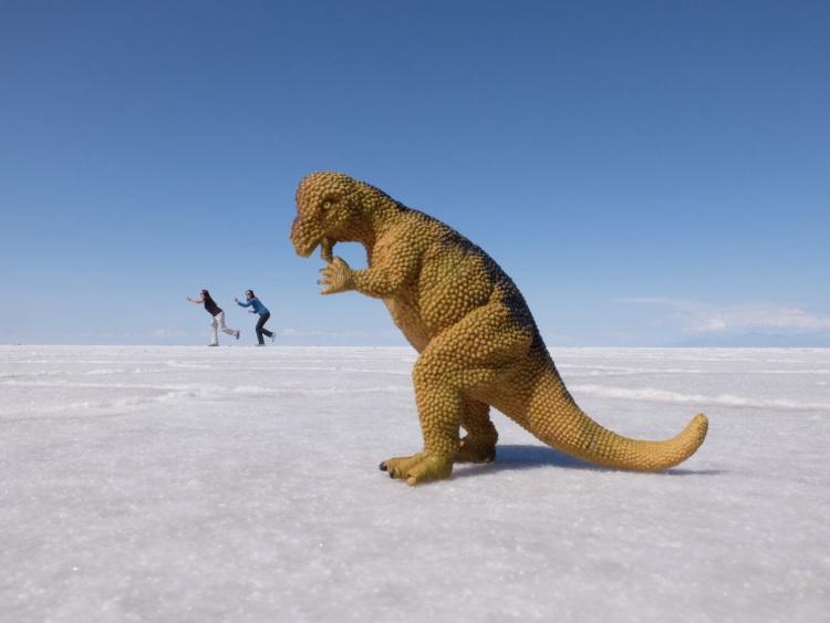Mein Lieblingsbild: Flucht vor dem Dino