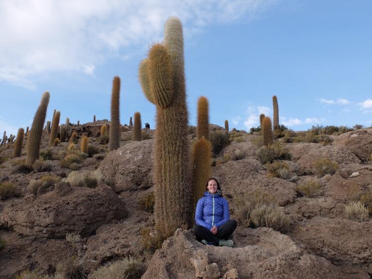 Auf der Insel Incahuasi