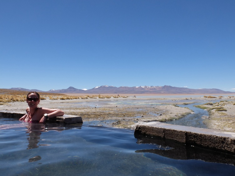 Zwischendurch in den Hot Springs relaxen