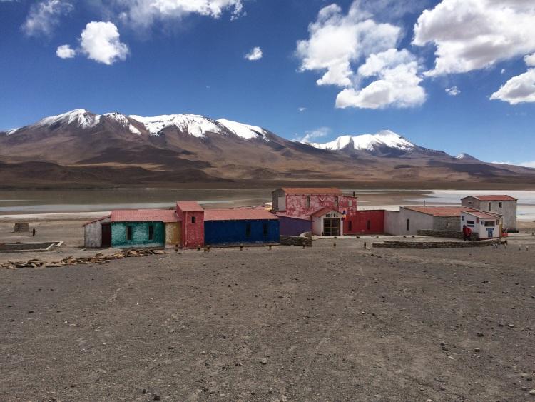 Dorf mitten im Altiplano