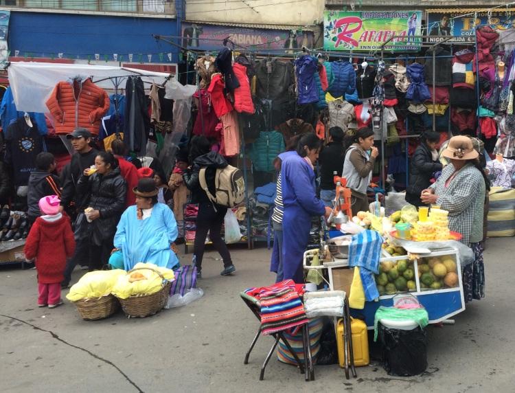 Marktfrauen in La Paz