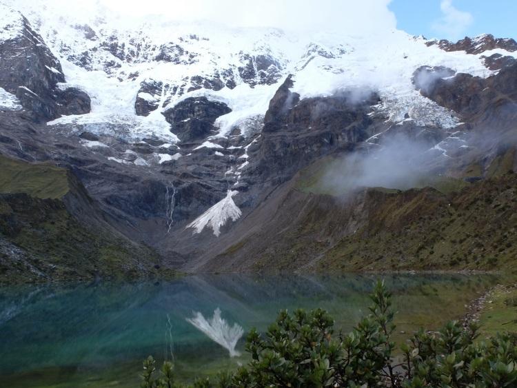 Die Lagune oberhalb des Camps