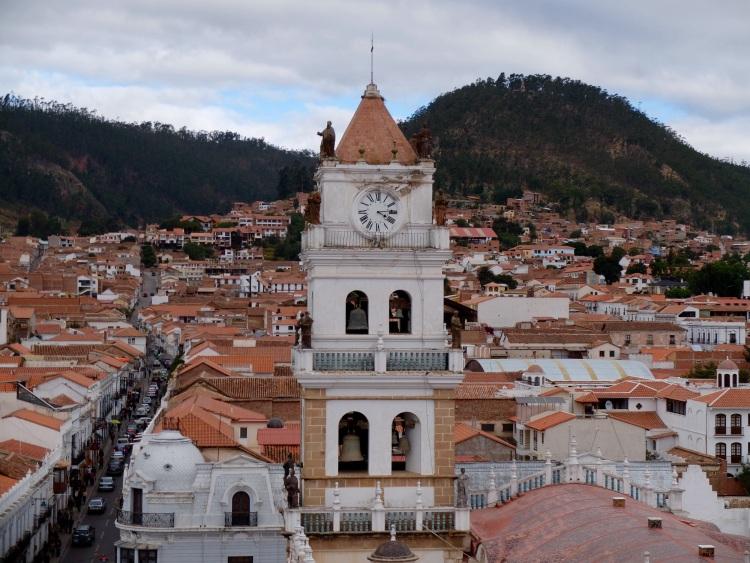 Sucre, Boliviens offizielle Hauptstadt