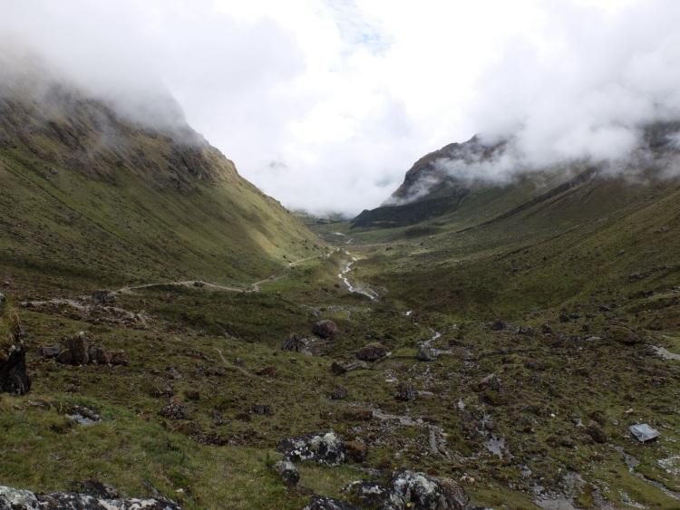 Abstieg Richtung Chaullay