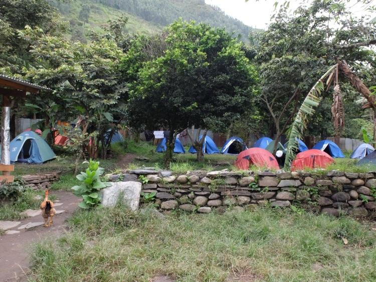 Camp in Santa Teresa
