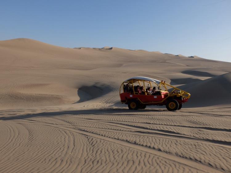 Wilde Fahrt mit dem Sandbuggy