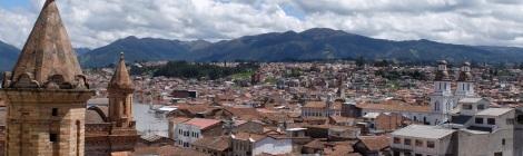 Cuenca von oben