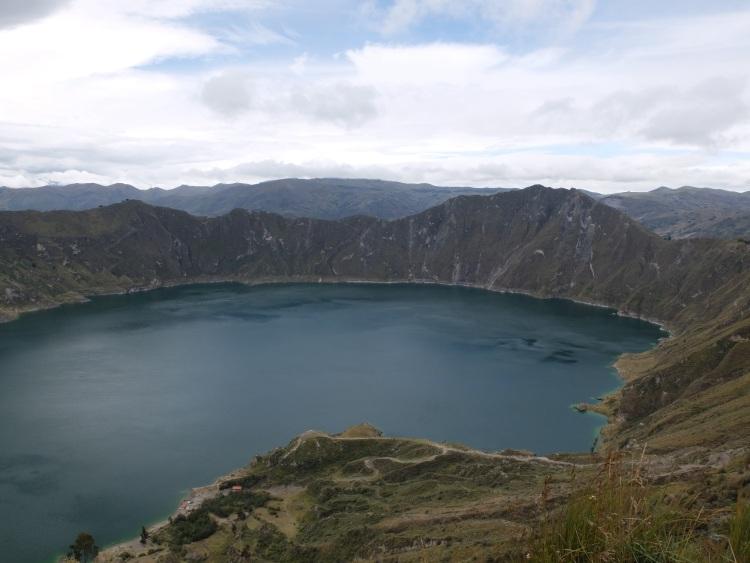 Quilotoa Lagune