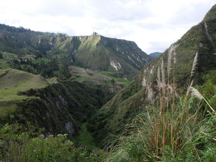 Durchqueren des Canyons